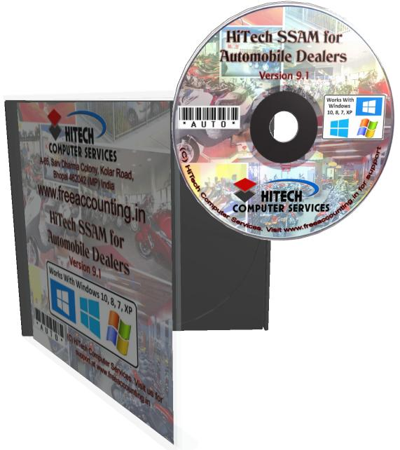HiTech Financial Accounting for Automobile Dealers (Accounting Software)