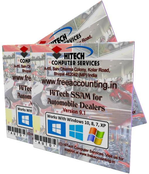 Automobile Sales Software, HiTech Financial Accounting for