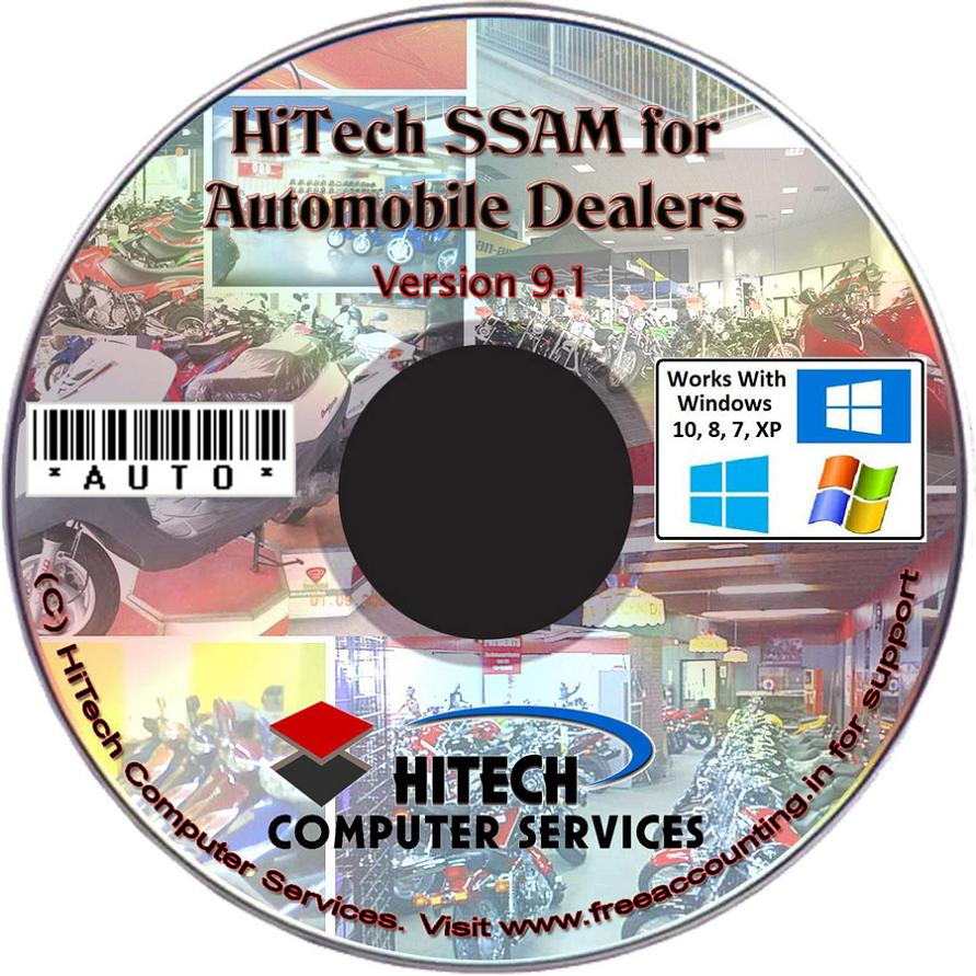 Vehicle Sales Software, HiTech Financial Accounting for